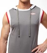 Худи N2N - Trainer (серый)