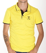 Поло Time of Style - 4017 (желтый)