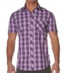 Рубашка Andrew Christian - Summer (фиолет.)