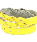 Браслет Spikes (желтый)