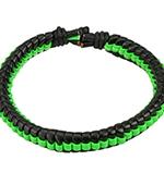 Браслет Spikes (зеленый)