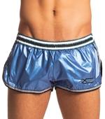Пляжные шорты XTG - Sport island (синий)