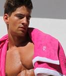 Полотенце Rufskin - Playa (розовый)