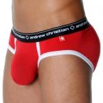 Брифы Andrew Christian - Almost Naked Sports (красный)