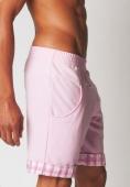 Бермуды Modus Vivendi - Tartan (розовый)